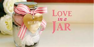Love In A Jar : A Gorgeous Mother's Day Gift Idea - School Mum