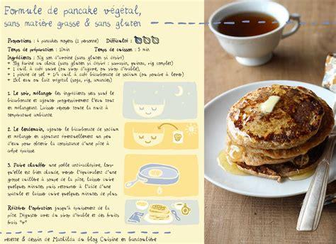 recette de pancakes l 233 gers et nourrissants cuisine en bandouli 232 re