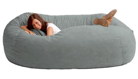 Huge Bean Bag Sofa Fuf 7 Ft L Comfort Suede Bean Bag Sofa Ppg Interior Paint Ideas For Exterior Color Combinations Faux Stone Effect Asian Paints Grey Colors Best Wood Waterproof Wall Textured Snow
