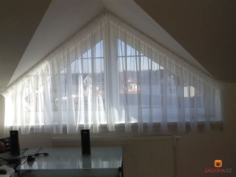 Gardinen Schräge Fenster Kollektionen  Fenster Gardinen