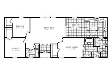 floorplan 3329 64x25 fk3 2 oakwood mod 58cla25643am