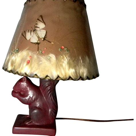 briggle squirrel l w original shade sold on ruby