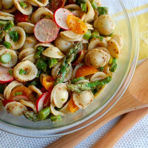 recette salade de p 226 tes orecchiette et d asperges sauce moutarde toutes les recettes allrecipes