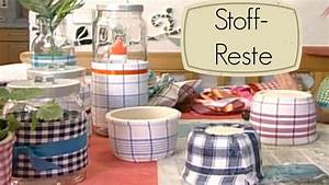 Wände Dekorieren Mit Stoff : dekostoffe und stoffreste basteln mit stoff youtube ~ Markanthonyermac.com Haus und Dekorationen