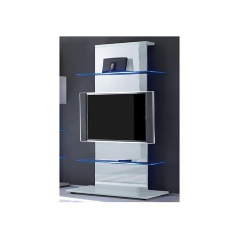 meuble tv design blanc laqu 233