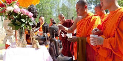 list of buddhist holidays and festivals
