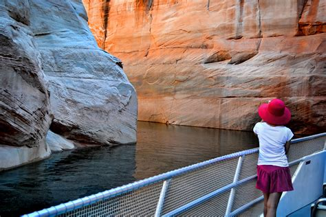 Lake Powell Private Boat Tours by Canyon Adventure Package Lake Powell Resorts Marinas