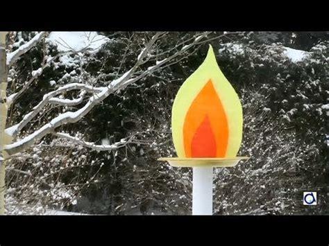 faire une torche olympique