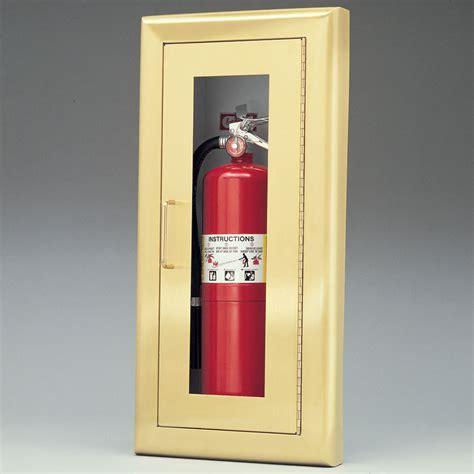 larsen medallion series semi recessed extinguisher cabinet