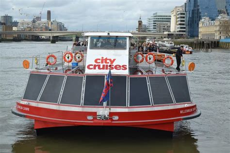 Boat Tour London Thames by River Thames Sightseeing Cruise With City Cruises Golden