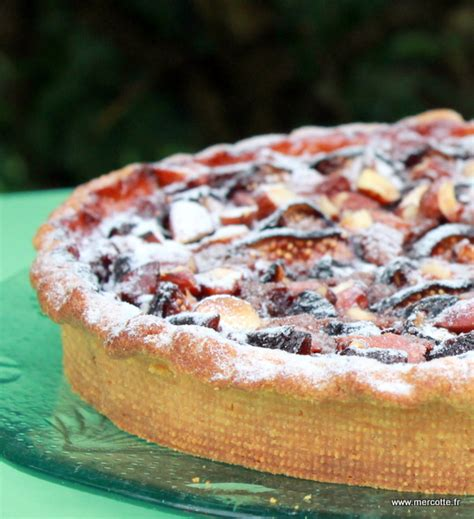 tarte folle aux figues et au pralin 233 de thierry mulhaupt la cuisine de mercotte macarons