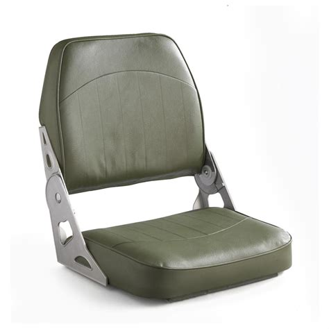 Fold Down Boat Seats by Wise 174 Low Back Fold Down Boat Seat Olive Drab