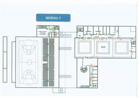 plan des salles du palais des sports et de la culture