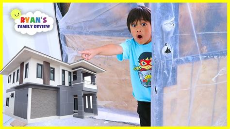 We Bought A New House!!! Ryan's Family Review New House