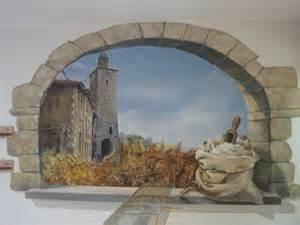fresque boulangerie fresques en trompe l oeil peinture murale