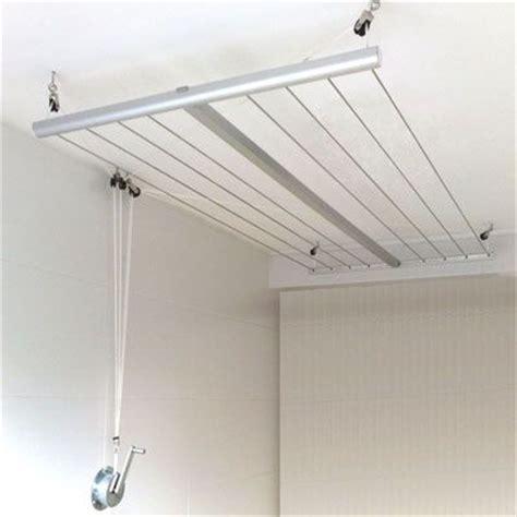 etendoir de plafond avec manivelle buanderie s 232 che linge s 233 che linge et v 234 tements