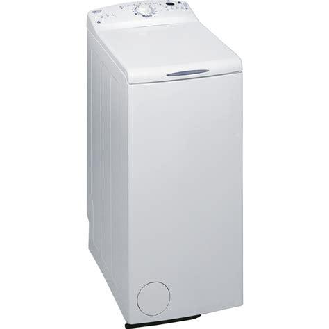 lave linge chargement dessus max min