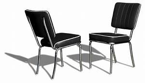 Diner Stühle Günstig : route 66 store belair diner stuhl co25 black ~ Markanthonyermac.com Haus und Dekorationen
