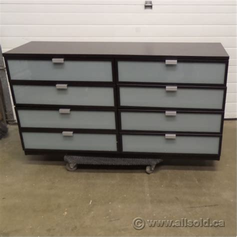 ikea hopen 8 drawer espresso dresser chest of drawers allsold ca buy sell used office