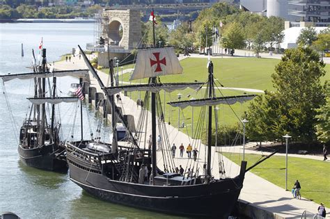 Christopher Columbus Boats In Pittsburgh by Ni 241 A Pinta To Dock In Pittsburgh For Touring Oct 1 12