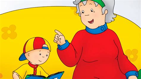 Books For Kids 📖 Caillou Dances With Grandma 📖 Story Time