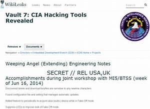 WikiLeaks Dumps Docs on CIA's Hacking Tools - Eli Shlomo Blog