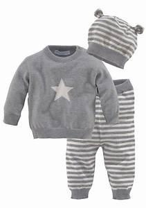 Baby Erstausstattung Set : klitzeklein shirt hose set 3 tlg 3er pack m tze online kaufen otto ~ Markanthonyermac.com Haus und Dekorationen