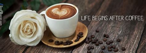 Life With Coffee Facebook Cover  Coffee Lovers