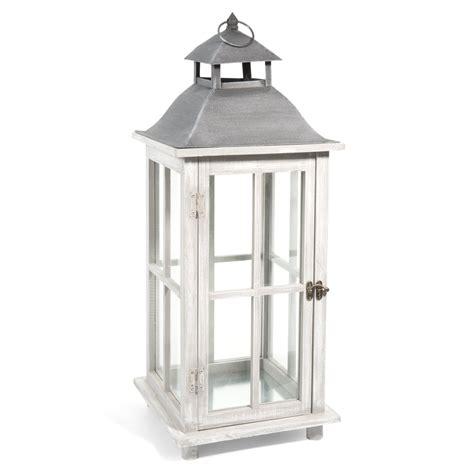 lanterne en bois h 65 cm arhus maisons du monde