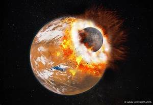 A giant impact: solving the mystery of how Mars' moons ...