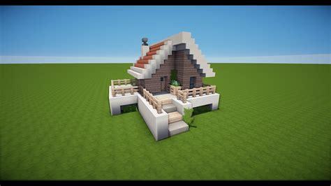 Kleines Minecraft Haus Bauen Tutorial [haus 55] Youtube