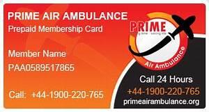 Emergency Evacuation through Medical Air Ambulance – Prime ...