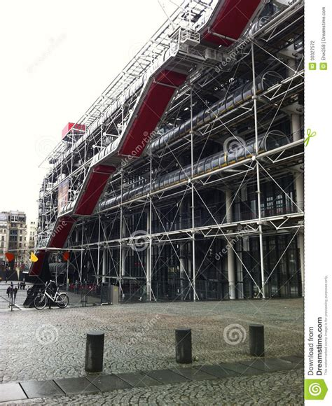 exterior of the centre georges pompidou stock photography image 30327572