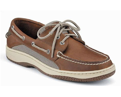 Tan Sperry Boat Shoes by Sperry 0799320 Top Sider Billfish Boat Shoe Dark Tan