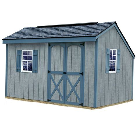 best barns aspen 8 ft x 12 ft wood storage shed kit aspen 812 the home depot