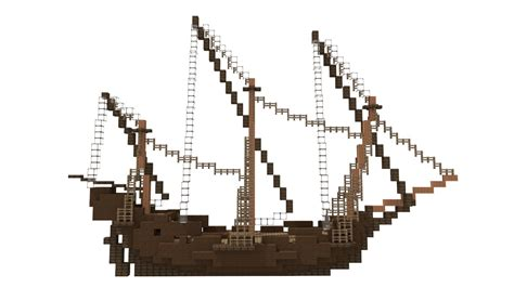 Minecraft Boat Building Guide by Minecraft Ship Building Guide 5 Rigging Youtube
