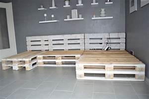 Palettenbett Selber Bauen : paletten sofa selber bauen wirklich so einfach ~ Markanthonyermac.com Haus und Dekorationen