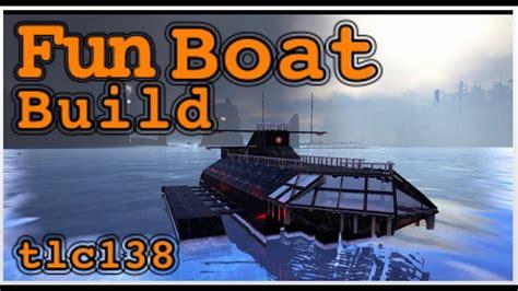 Ark Boat Youtube by Ark Boat Ship Base Build Youtube