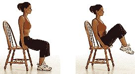 a no fuss 25 minute chair workout