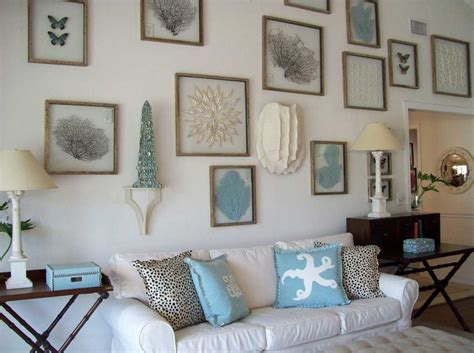 House Decor : Beach House Wall Decor With White Wall Paint Color
