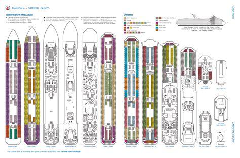 carnival ship deck plan car pictures car