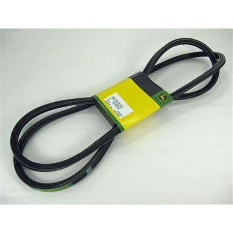 deere mower drive belt fits stx38 black deck m125218