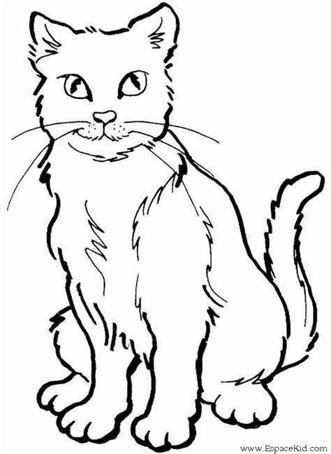 coloriage chat 224 imprimer dans les coloriages chat dessin 224 imprimer