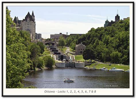 rideau canal photo ottawa locks locks 1 to 8