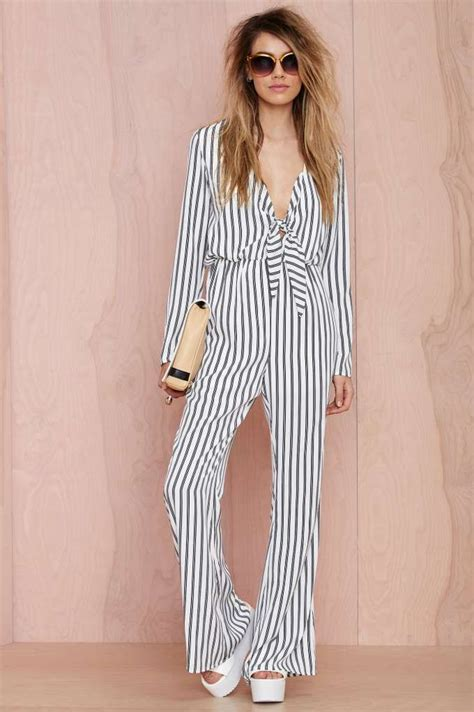 Dreamboat Woman by Dreamboat Tie Front Jumpsuit Shop Rompers Jumpsuits At