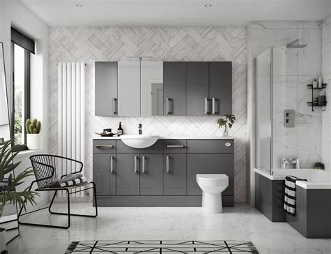 Grey Bathroom Designs