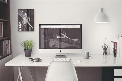 Bureau Blanc Laque Imac