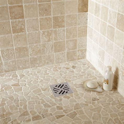 travertin int 233 rieur travertin ivoire 10 x 10 cm leroy merlin salles de bain