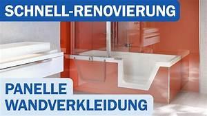 Bad Alternative Fliesen : panelle von duscholux als alternative zu neuen fliesen shk tv reportage youtube ~ Markanthonyermac.com Haus und Dekorationen