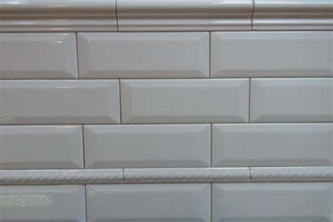 beveled subway tile true white bathroom ideas